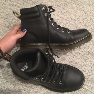 23d64ab1bd6f Dr. Martens Shoes - Dr. Martens Faora Mid Top Leather Boot